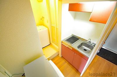 【キッチン】レオパレスぶどうの木