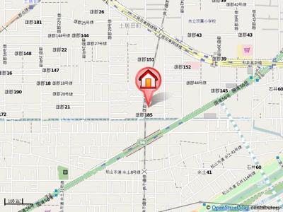 【地図】松本アパート