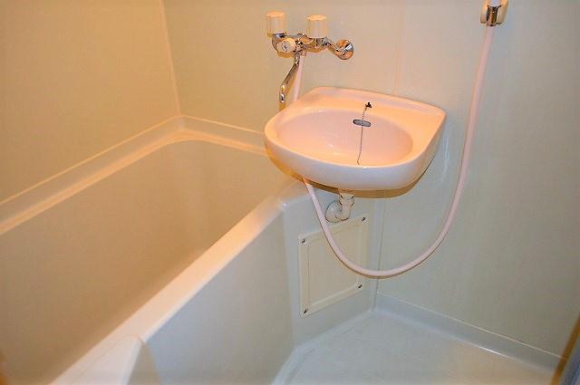 【浴室】ガーデンシモB棟