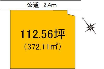 【土地図】茨城町常井土地