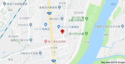 【地図】レオパレスレクエルド