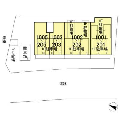 【区画図】GRAN COURT YONO