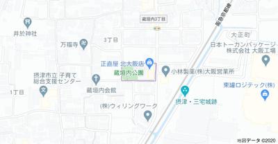 【地図】place west