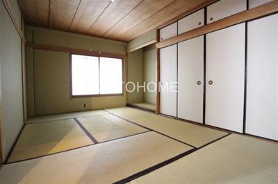 【寝室】合川マンション