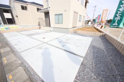 【駐車場】鴻巣市広田~新築分譲住宅~