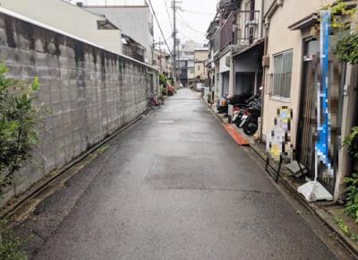 【前面道路含む現地写真】下京区西七条南月読町