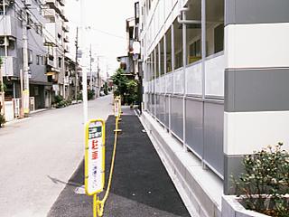 【バルコニー】レオパレス三津屋北