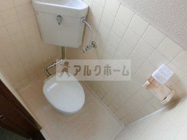 大清リバーサイドハイツ 柏原市 トイレ