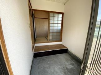【玄関】寿町平屋