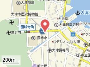 【地図】ジョリー三井寺