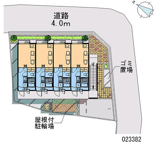 【地図】レオパレスハイツK5