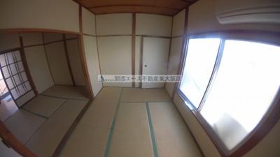 【寝室】長池パンションC棟