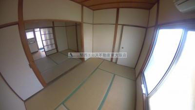 【居間・リビング】長池パンションC棟