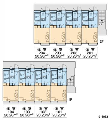 【区画図】レオパレスパレス猪名寺