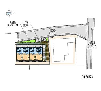 【地図】レオパレスパレス猪名寺