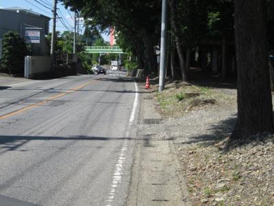 【前面道路含む現地写真】本庄市小島4丁目 4200万 土地