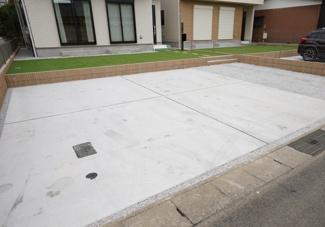 駐車場も整備されていますので駐車もラクラクです。