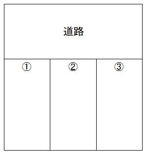 【区画図】吉田2丁目駐車場