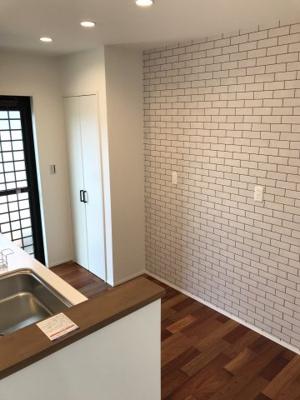 【キッチン】ビンテージナチュラルな家 那珂川市片縄2丁目建売