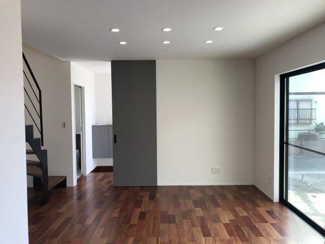 【居間・リビング】ビンテージナチュラルな家 那珂川市片縄2丁目新築建売