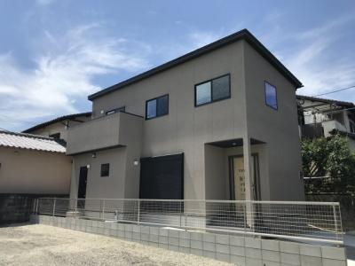 【外観】ビンテージナチュラルな家 那珂川市片縄2丁目建売