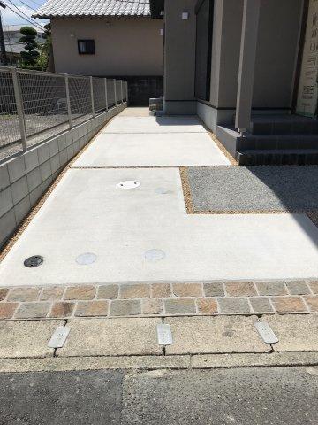 【駐車場】ビンテージナチュラルな家 那珂川市片縄2丁目新築建売