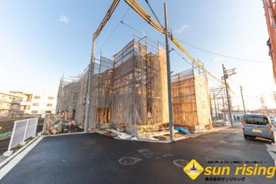 【外観】立川市砂川町8丁目 新築一戸建 全11棟 2号棟