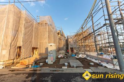 【外観】立川市砂川町8丁目 新築一戸建 全11棟 4号棟