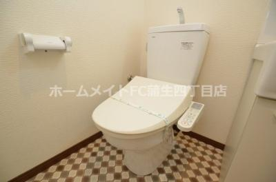 【トイレ】ウインズコート城東中央