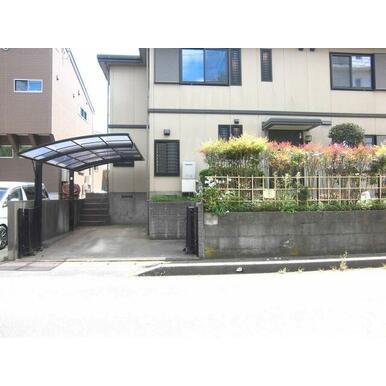 【駐車場】江戸川台東戸建て住宅