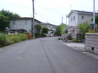 【前面道路含む現地写真】湖南市北山台3丁目 売土地