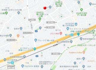 【地図】グレイスコート幡ヶ谷