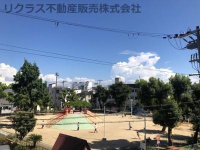 公園が近くにあります