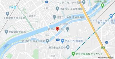 【地図】北別府戸建
