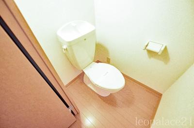 【トイレ】レオパレス若松
