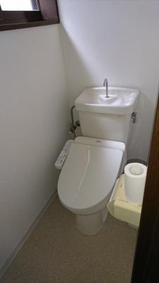 2階ウオシュレットトイレ