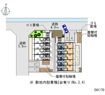 【地図】レオパレス塚口2番館