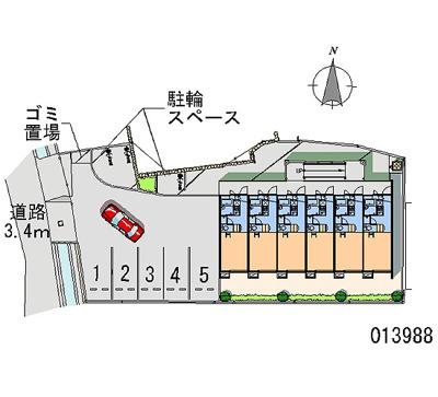 【地図】レオパレス猪名川