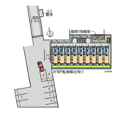 【地図】レオパレスパレス猪名寺Ⅱ