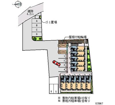 【地図】レオパレスニュー猪名寺