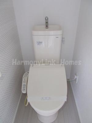 ジオメトリ和泉のトイレもきれいです