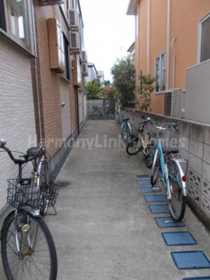 ジオメトリ和泉の駐輪スペース☆