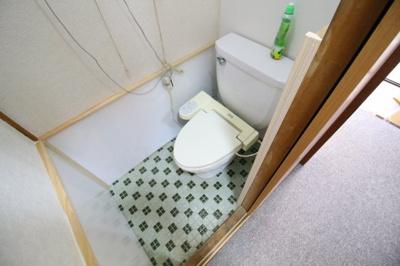 【トイレ】上池田貸家