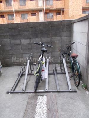 シャトー西新宿の駐輪スペース☆