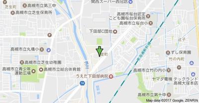 【地図】パストラル堤