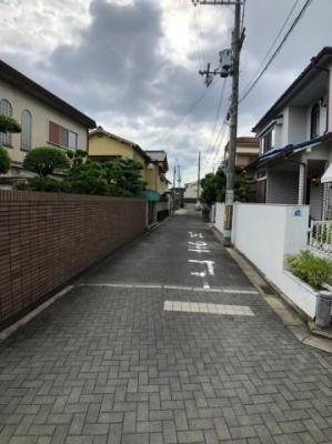 【前面道路含む現地写真】東大阪市菱屋西2丁目 売地