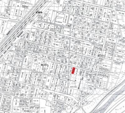 【地図】南森本町売土地