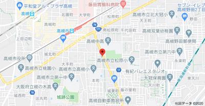【地図】上本町メゾネット (株)Roots