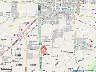 【地図】メゾン・ウィステリア