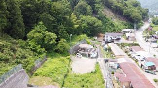 【展望】大月市大月町駒橋 建築条件なし売地 67坪